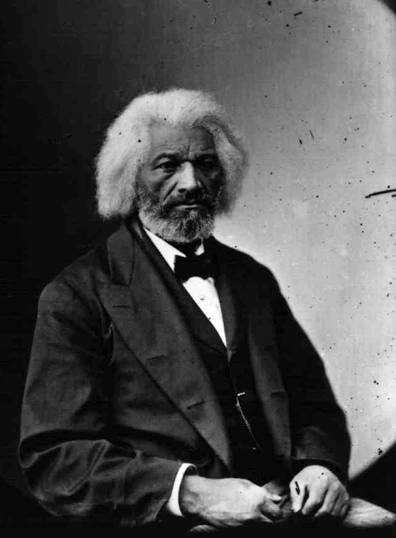 "Mathew Brady Studio. ""Frederick Douglass."" C. 1890. African-American Perspectives: The Progress of a People, Library of Congress."